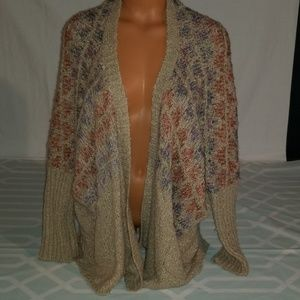 BKE Cardigan Oversized Sweater size Medium
